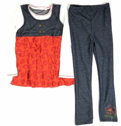 6x Girl's Tunic & Leggings 2-Piece Set Outfit Kids Headquarters NEW