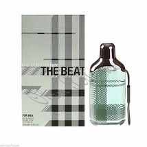Burberry The Beat For Men Eau de Toilette Spray 3.4oz 100ml * New in Box Sealed - $35.27