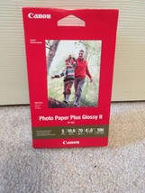 Canon Photo Paper Plus Glossy II  4X6   **NEW**  100 SHEETS - $9.75