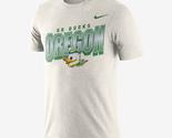 new nike Oregon Ducks Mens Football Dri-Fit cotton go ducks tee t-Shirt Men XXL
