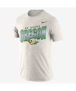 new nike Oregon Ducks Mens Football Dri-Fit cotton go ducks tee t-Shirt ... - $22.99