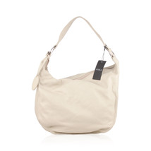 Authentic Furla Off White Leather Hobo Shoulder Bag Tote - $143.55
