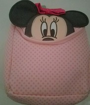 """NEW 12"""" Disney Minnie Mouse Face Back  Backpack Small Bag - $17.81"""