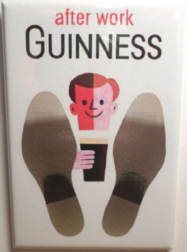 Guinness after work magnet