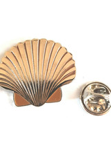 silver shell design tie pin, Lapel Pin Badge, in gift box