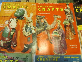 Vintage Creative Crafts Magazine Lot Of 8 - $6.00