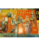 Vintage Creative Crafts Magazine Lot Of 8 - $12.99