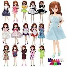 *Barwawa Licca-chan doll dress six set = three clothing +3 pair of shoes... - $17.44