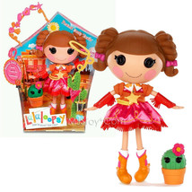 "NEW HOT Lalaloopsy 12"" Tall Button Rag Doll  Prairie Dusty Trail + Plant... - $82.99"