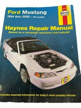 Haynes Repair Manual 36051 Ford Mustang 1994-2000 - $14.50