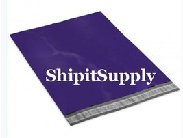1-1000 9x12 ( Dark Purple ) Color Poly Mailers Shipping Bags Fast Shipping - $0.99+