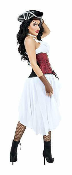 Starline Alto Seas Miele Pirata Sexy Adulto Donna Halloween Costume S9009