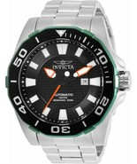 BRAND NEW INVICTA PRO DIVER 30510 AUTOMATIC SILVER STAINLESS STEEL MEN'S... - £113.71 GBP