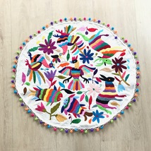 Exclusive oval Otomi tablecloth - $75.00