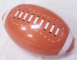 2 INFLATABLE FOOTBALL 12 inch sports ball inflate blowup toy novelties k... - $6.27