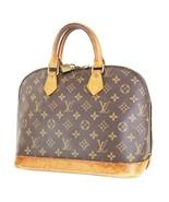 Authentic LOUIS VUITTON Alma Monogram Hand Bag Purse #35699 - $339.00