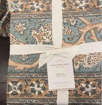 Pottery Barn Selena Duvet Cover Set King 2 Standard Shams Block Print Me... - $258.00