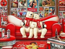Coca-Cola Polar Bear Cave by Michael Fishel Metal Sign - $29.95
