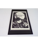 1937 Jameson Whiskey Framed 11x17 ORIGINAL Vintage Advertising Poster - $65.09