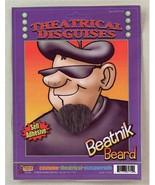 Beard Self Adhesive Black Beatnik  Fun  Beard - $1.97