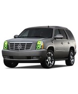 FLASHTECH for Cadillac Escalade 07-14 Green Single Color LED Halo Ring H... - $214.62