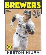 2021 Topps 1986 Topps Baseball 35th Anniversary #86B-31 Keston Hiura NM-MT Brewe - $2.99