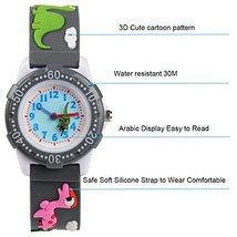 Venhoo Kids Watches 3D Cute Cartoon Waterproof Silicone Children Toddler Wrist W image 2