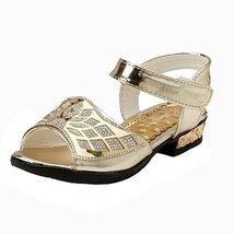 Rhinestone Little Princess Summer Shoes Female Shoes Bow Mesh Sandals Toe