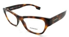 Burberry Rx Eyeglasses Frames BE 2302 3316 53-17-140 Light Havana Made in Italy - $176.40