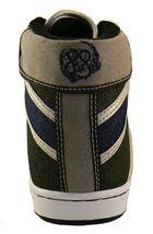 Public Royalty Noir Bleu Zaq Haut Jeans Chaussures Baskets Nib image 3