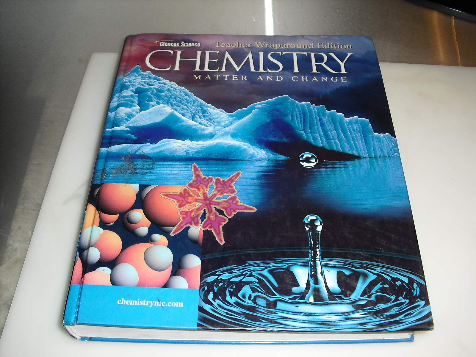 chemistry  matter  and  change  teacher wraparoud  edition