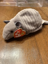 Retired Tank and Chocolate Beanie Babies in excellent condition - $50.00