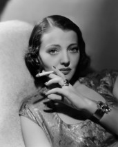 Sylvia Sidney 11x14 Photo cool pose with cigarette - $14.99