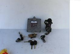 04 Accord v6 ATX ECU ECM Ignition Switch w/Immo Glove Trunk Door Lock & 3 Keys image 1