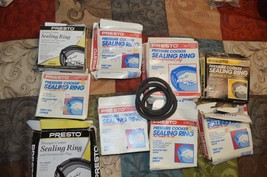 10 Presto Pressure Cooker Sealing Rings no air vents Differant part numbers new - $9.00