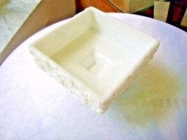 "Westmoreland Old Quilt Pattern Square Candy Dish 4 3/4"" SQ - $11.88"