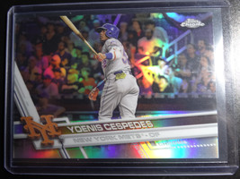 2017 Topps Chrome #21 Yoenis Cespedes Photo Variation Refractor Baseball... - $12.00