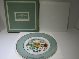 1980 Avon Christmas Plate Series Eighth Edition Country Christmas | w Bo... - $16.83