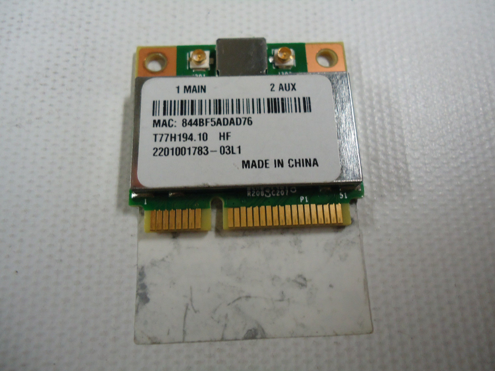 Acer Aspire One 725 725-0487 WIFI Wireless Card T77H194.10 BCM94313HMG2L