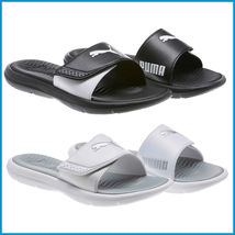 New Puma Surfcat Women Ladies' Slide Sandal, Black & White, Pick Size&Color - £10.36 GBP+
