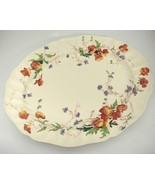 "Vintage Royal Doulton Sherborne 15"" Oval Serving Platter Scalloped Very ... - $39.59"