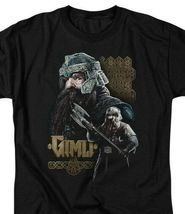 The Lord of the Rings trilogy Gimli Dwarf Warrior graphic t-shirt LOR1009 image 3
