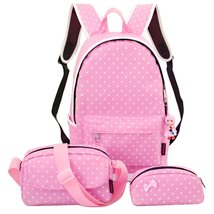 4Pcs Little Bow Kids Book Bag School Backpack Cute School Bags for Teen ... - €26,52 EUR