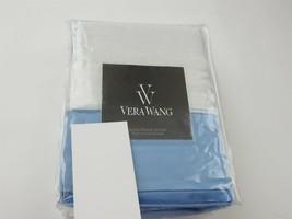 Vera Wang Chiffon Flower Blue Euro sham NIP $195 - $72.70