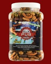 Germack Pub Mix: Bacon, Guacamole, Cheese, Nuts -  Six- 19 Oz Jars - $40.19