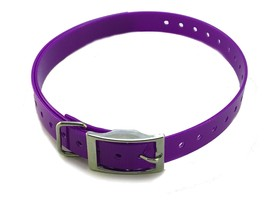 "3/4"" High Flex Dog Strap For E Collar Garmin SportDOG PetSafe Purple by ... - $15.99"