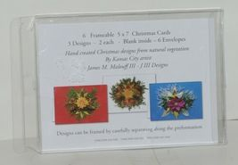 Natural Beauty Christmas Frameable 5X7 Christmas Card 3 Designs Package 6 image 5