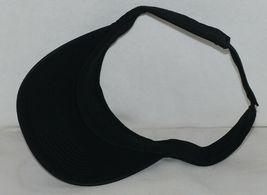 Augusta Sportswear Adult Adjustable Black Sport Twill Visor 6225 image 5