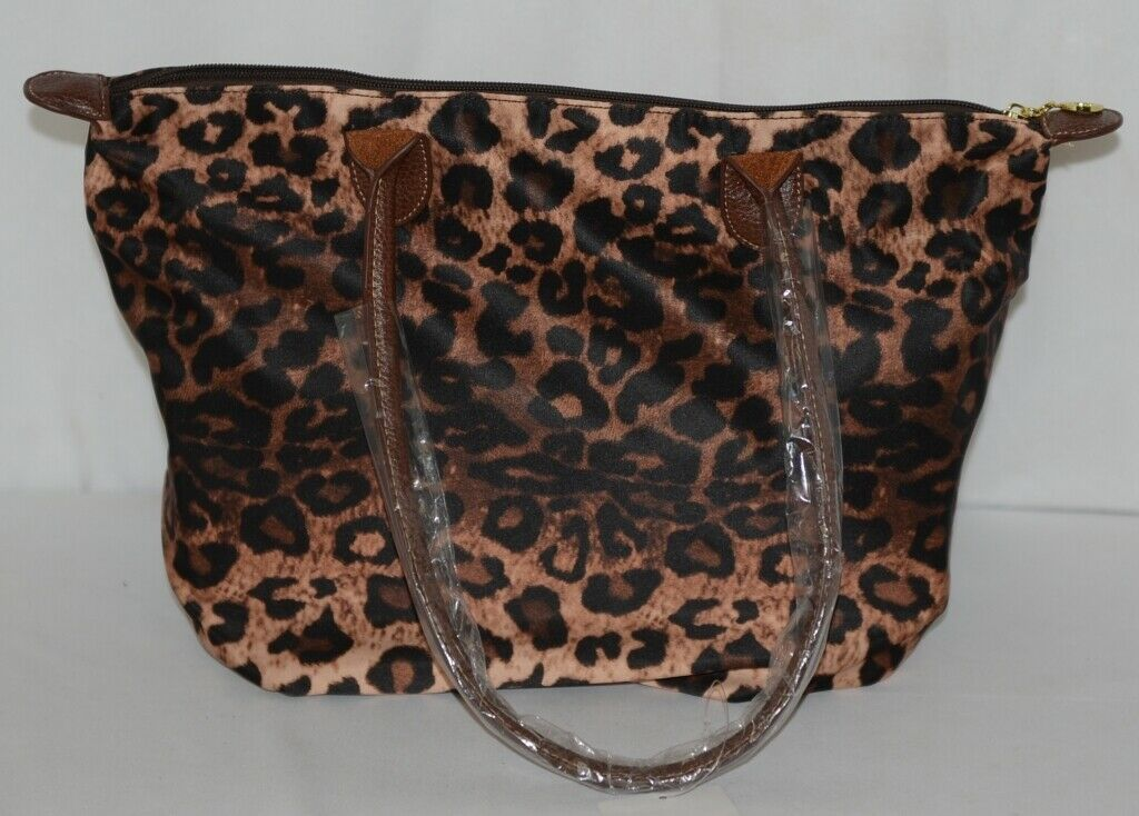 J Brand Product Number HD1641LP Medium Leopard Print Purse