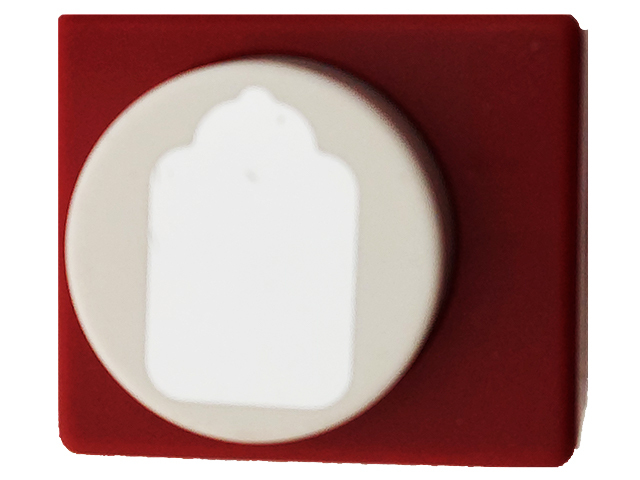 Emagination Crafts Scalloped Tag Punch, 1 x 1.75 Inches
